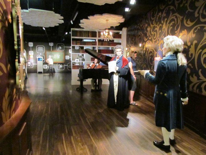 Figur und Klavier Ludwig van Beethoven