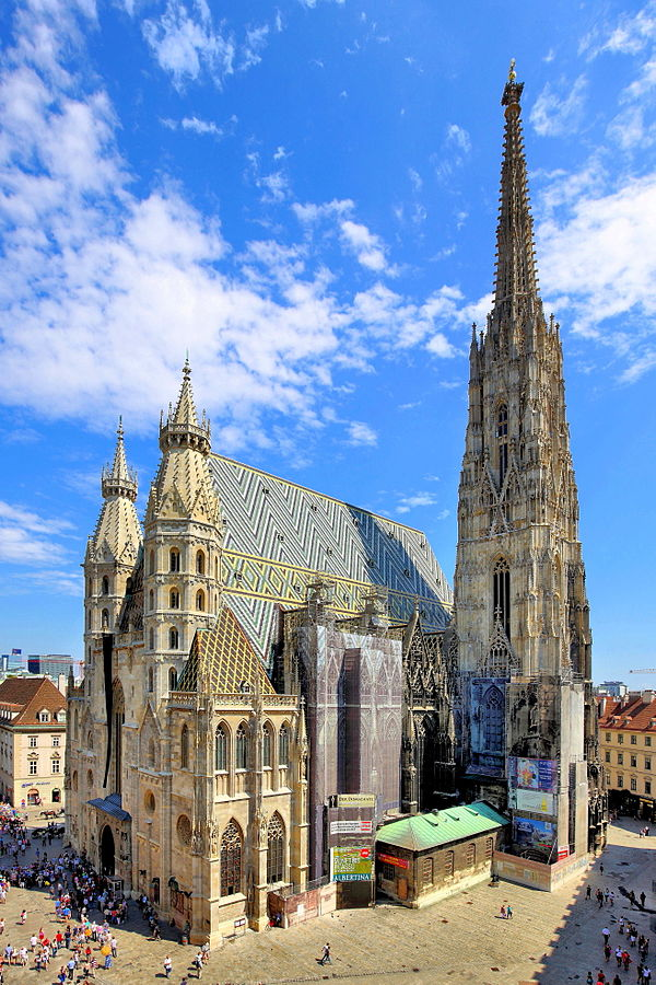 Stephansdom in Wien, © Bwag/Wikimedia