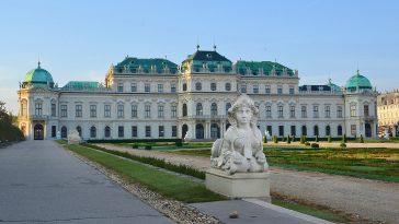 Schloss Belvedere Außenansicht