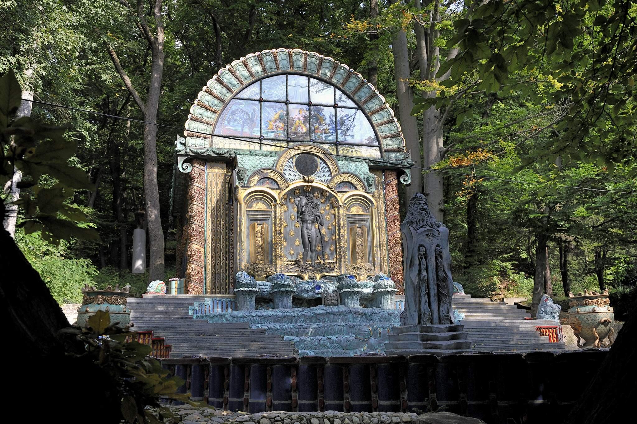 Nebengebäude der Otto Wagner Villa