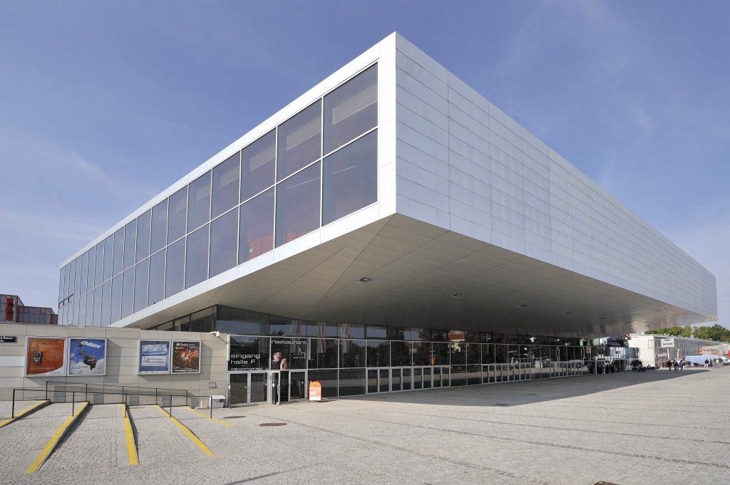 Blick auf die Stadthalle in Wien