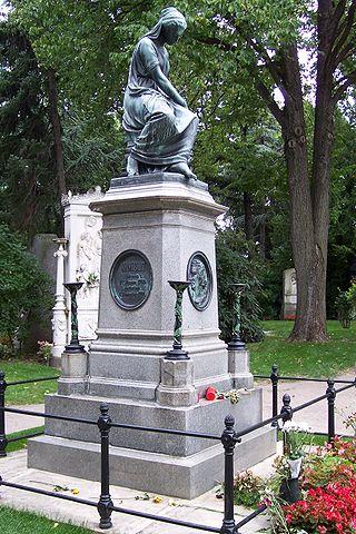 Zentralfriedhof Mozart-Denkmal