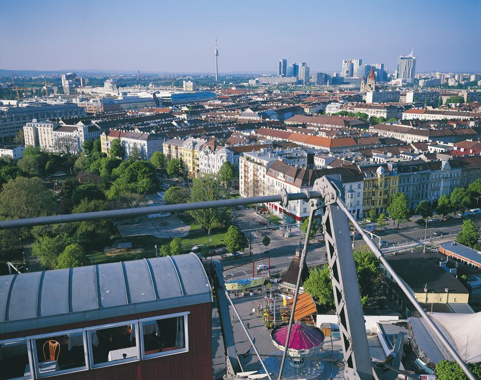 Ausblick vom Riesenrad im Wiener Prater