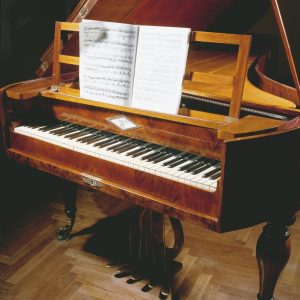 Historisches Piano in Schuberts Geburtshaus