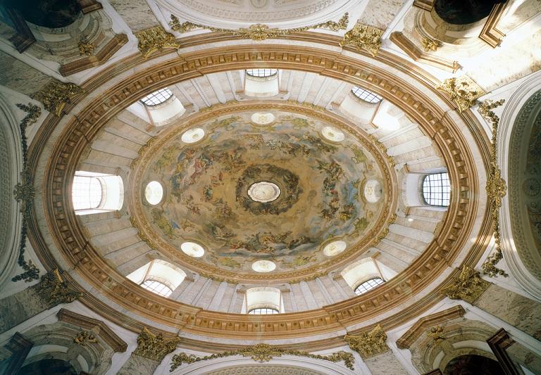 Karlskirche/ Kuppel innen