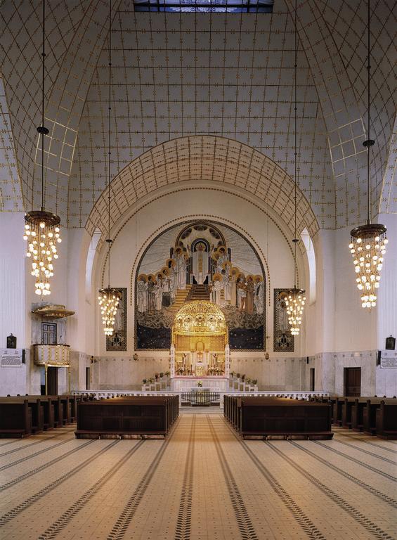 Kirche am Steinhof innen (Kirche St. Leopold)