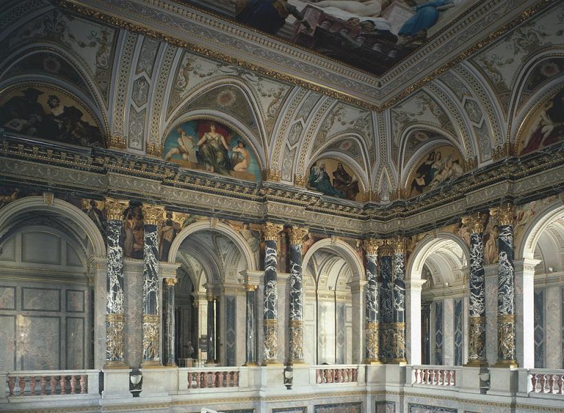 Halle des Kunsthistorischen Museums in Wien