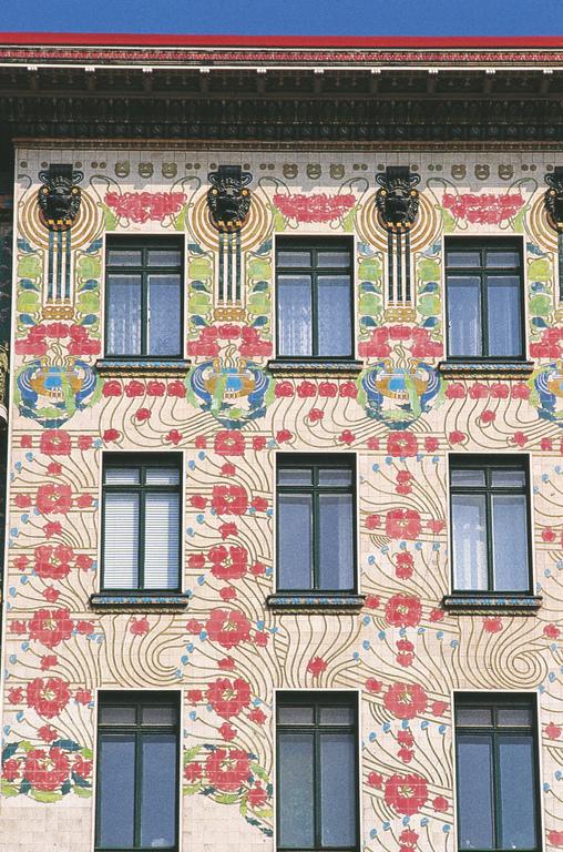 Majolikahaus Otto Wagner-Bau in der Wienzeile