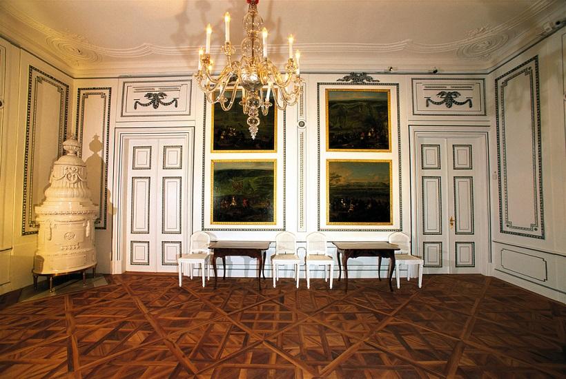 Schloss Hof, Innenräume des Schlosses