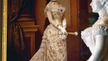 Gemälde von Sisi im Sisi Museum in der Wiener Hofburg