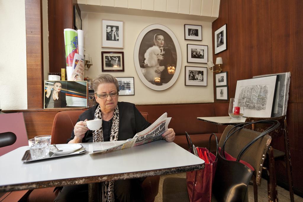 Wiener Kaffeehauskultur Cafe Korb