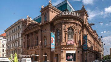 Außenansicht des Theater Ronacher