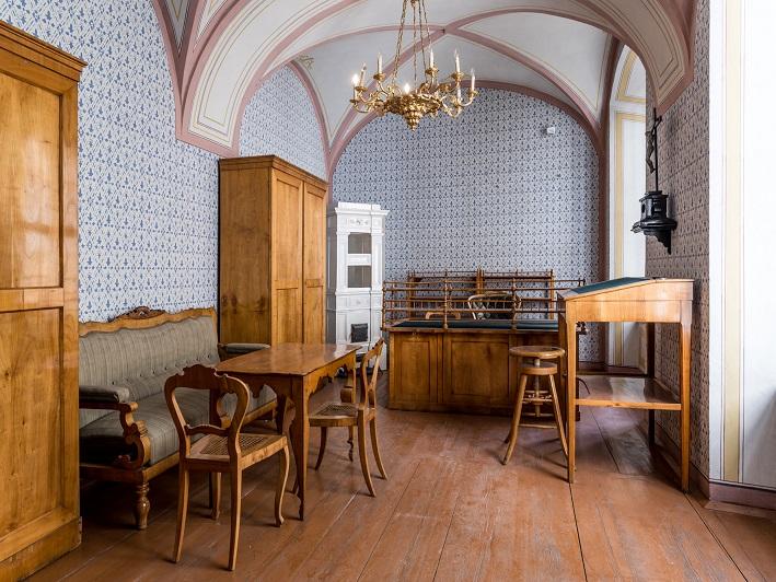 Einrichtungsgegenstände im Literaturmuseum Grillparzerhaus
