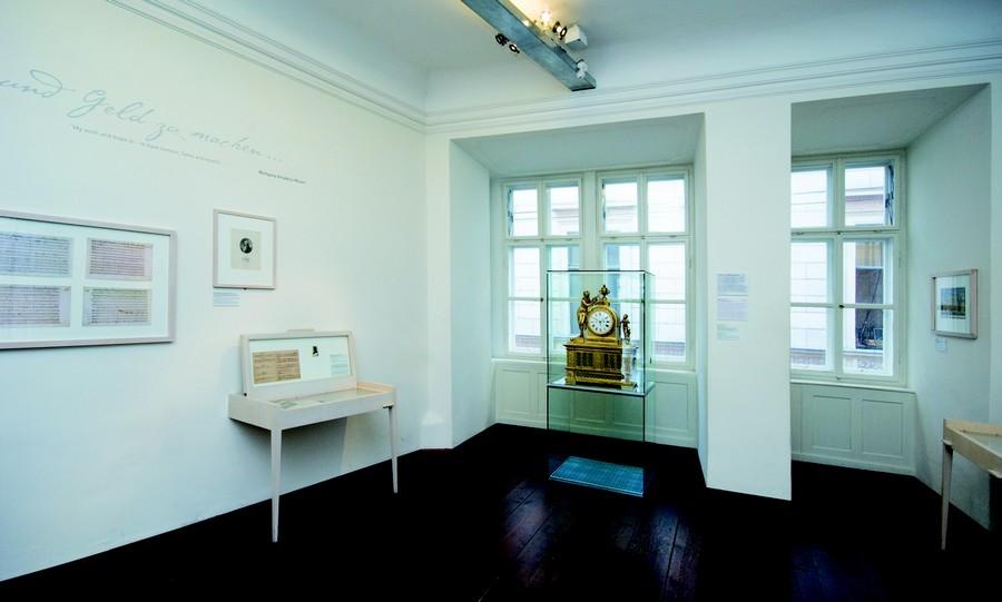 Mozart's Arbeitzimmer wird hier vermutet