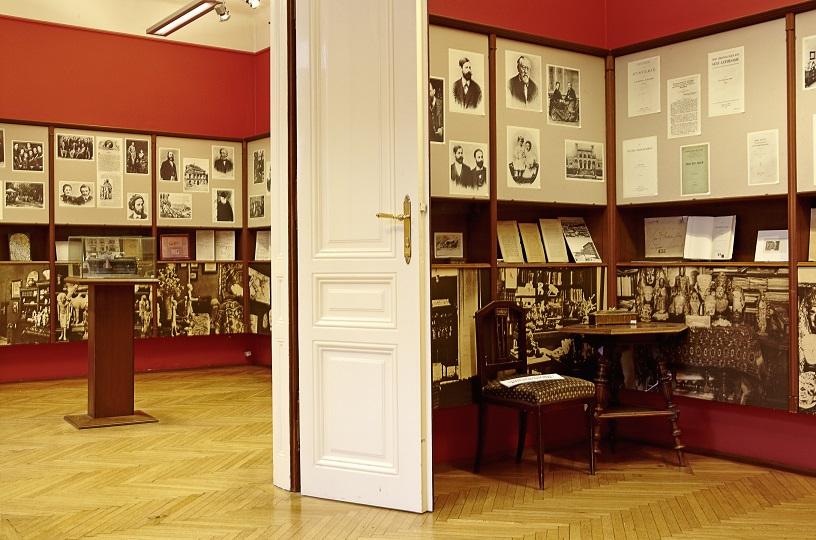 ehemaliges Arbeitszimmer Sigmund Freuds