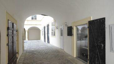 Durchgang zum Innenhof der Bäckerstraße 7 (1. Bezirk)