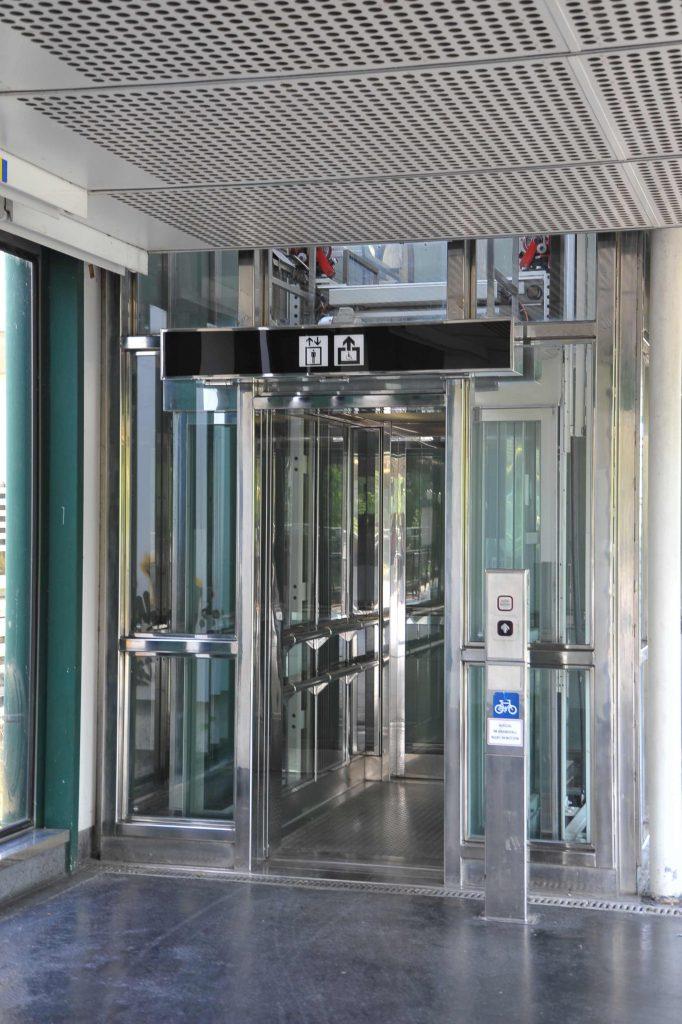 Barrierefreiheit U-Bahn - Lift