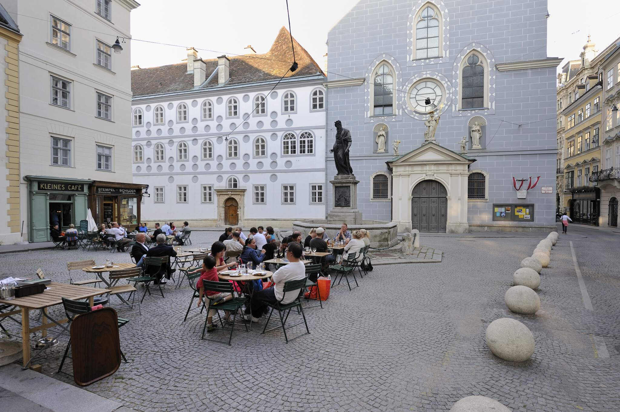 Schanigärten am Franziskanerplatz