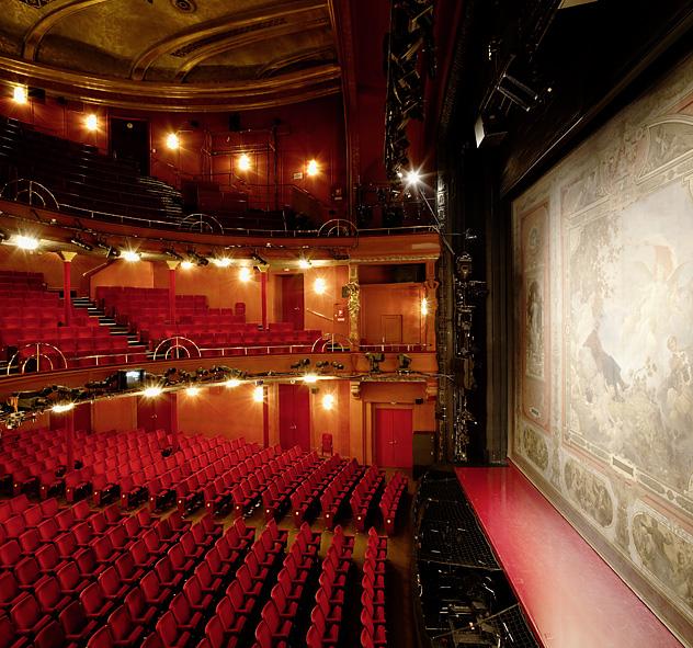 Zuschauerbereich des Raimundtheaters