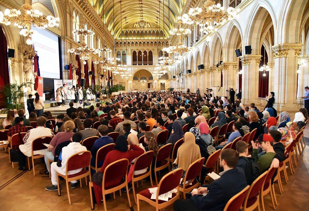 Preisverleihung im Wiener Rathaus