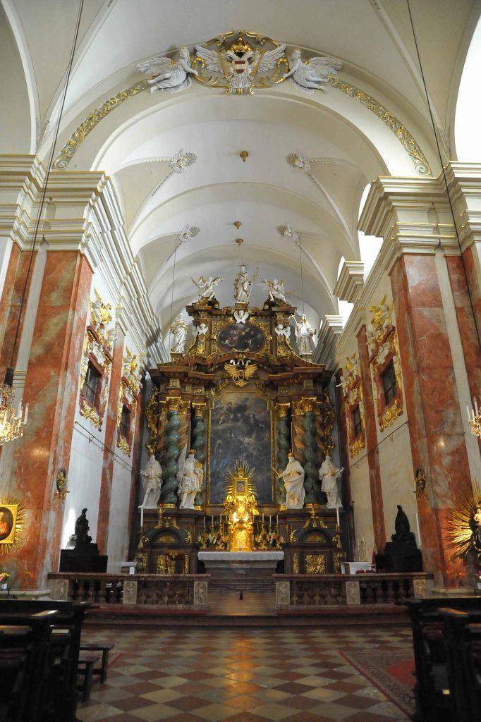Altar der Rochuskirche (3., Landstraßer Hauptstraße 56)