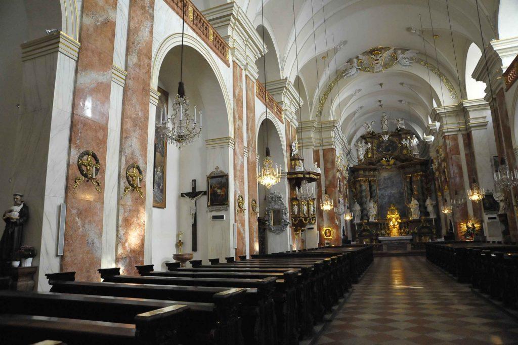 Innenansicht der Wiener Rochuskirche (3., Landstraßer Hauptstraße 56)