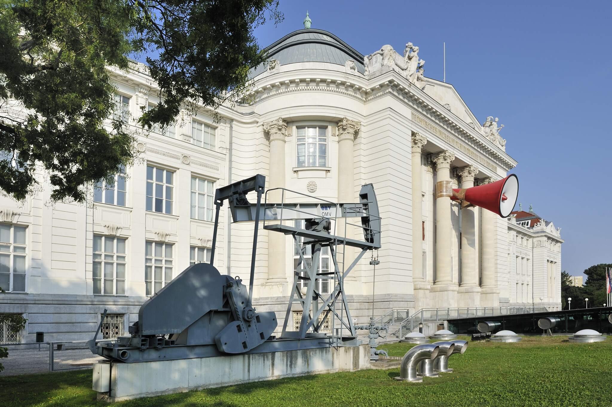 Technisches Museum Wien mit Ölpumpe (14., Mariahilfer Strasse 212)