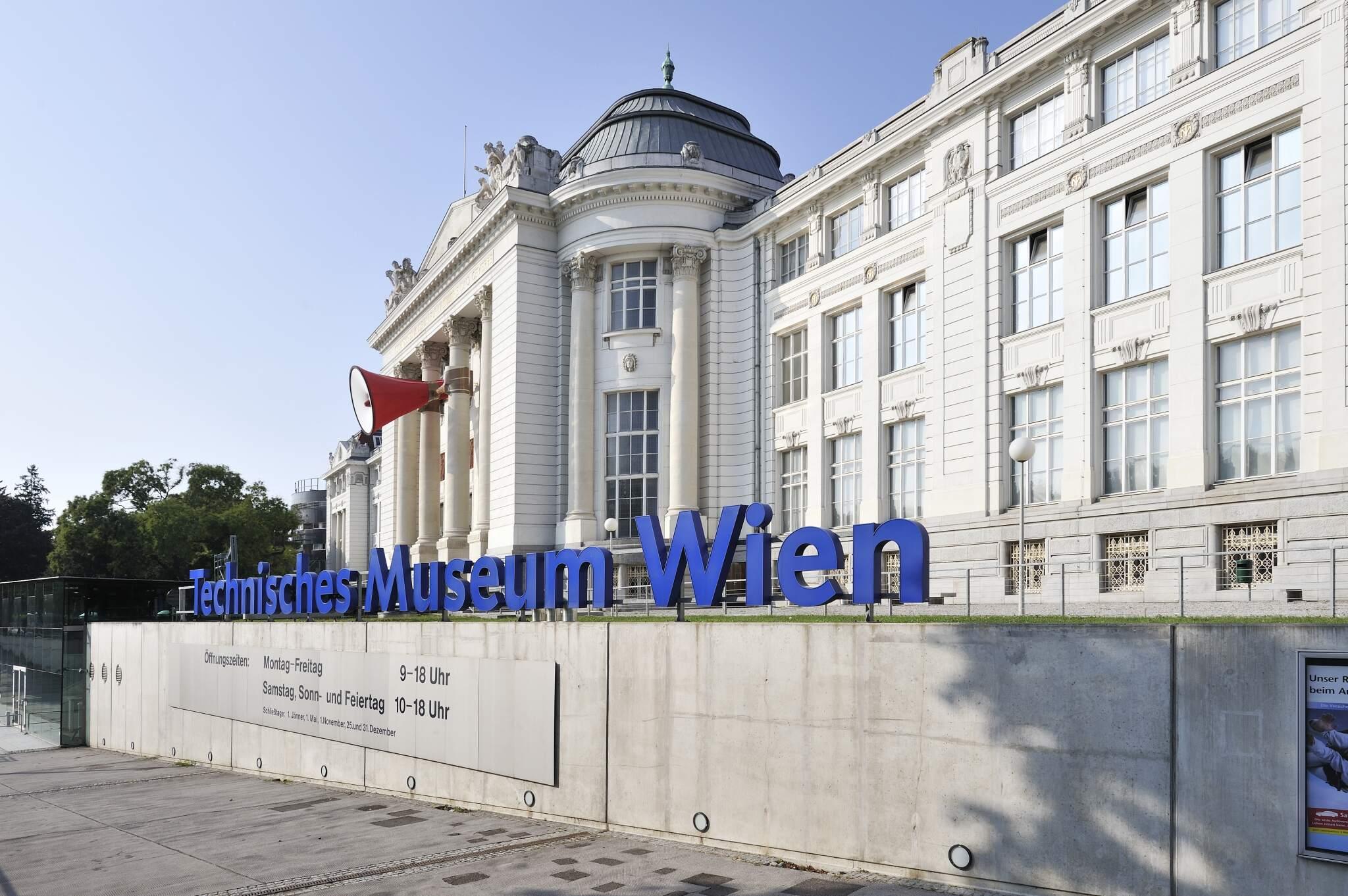 Eingangsbereich Technisches Museum Wien
