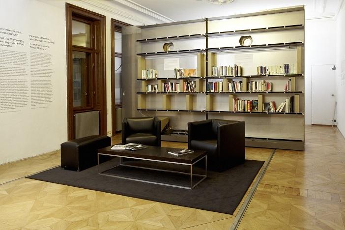 Ausstellungsaal mit Living Library
