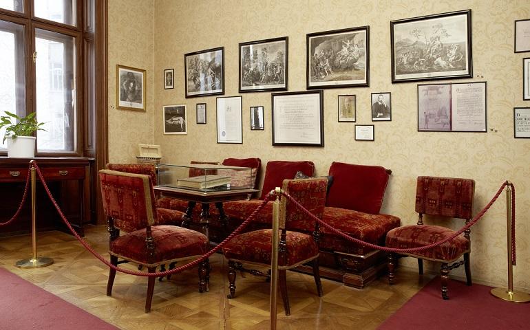 Wartezimmer aus Sigmund Freuds Praxis