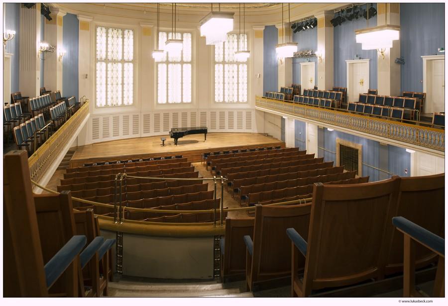 Mozart-Saal leer im Konzerthaus Wien
