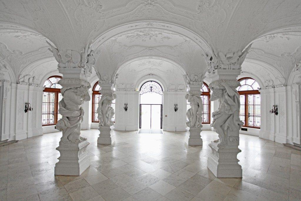 Sala terrena im Oberen Belvedere