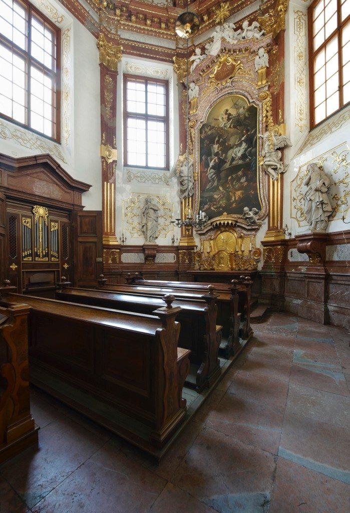 Schlosskapelle im Oberen Belvedere