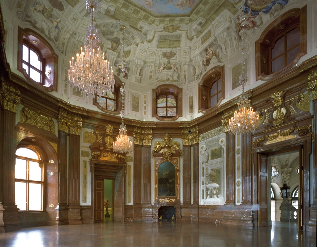Marmorsaal im Oberen Belvedere