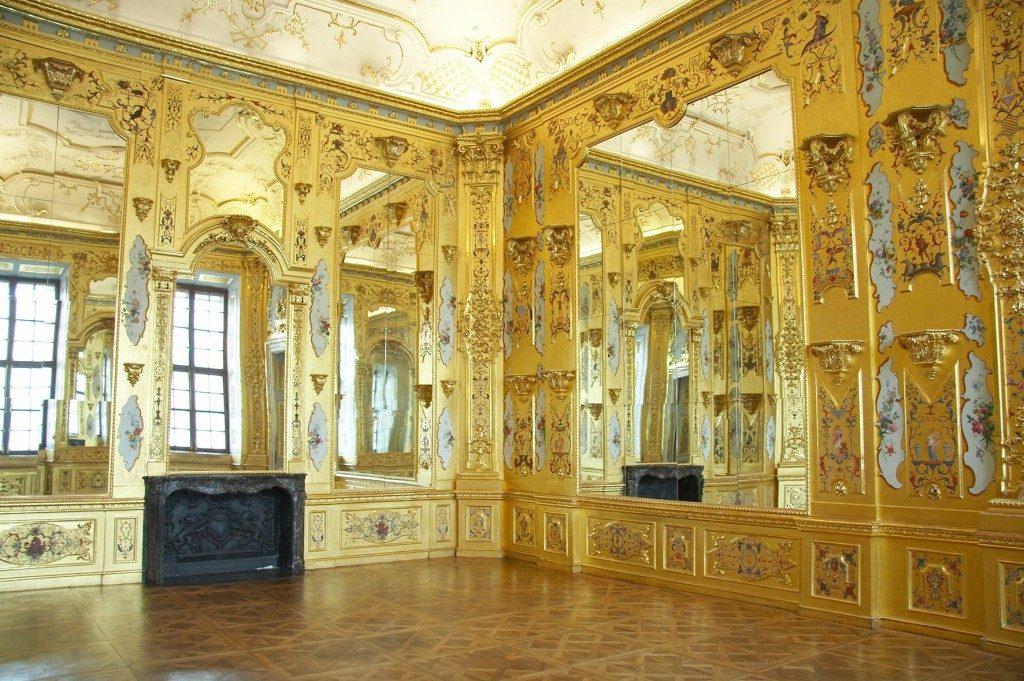 Goldkabinett im Unteren Belvedere