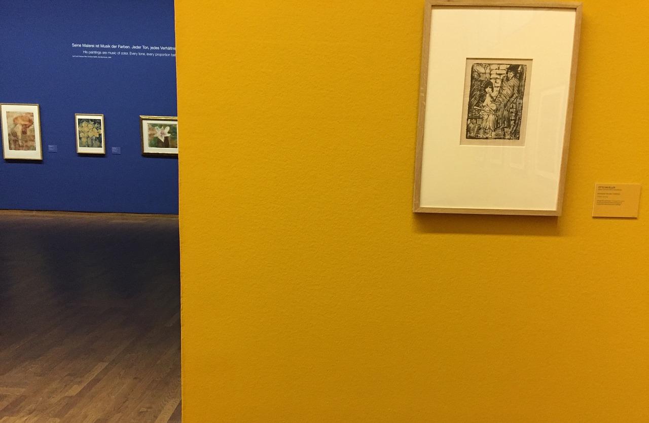 Ausstellungsraum im Leopold Museum