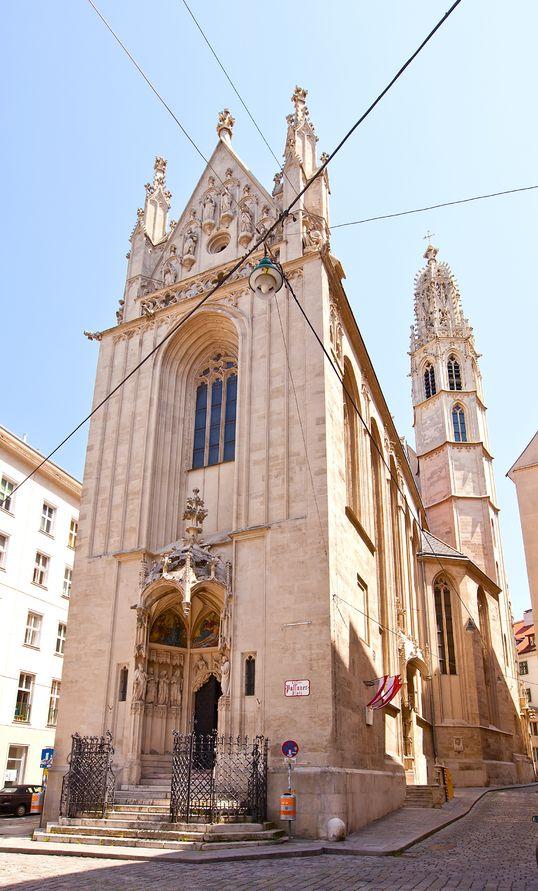 church of mary at the shore maria am gestade, circa 1414
