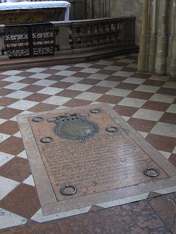Savoyer-Grabplatte im Stephansdom