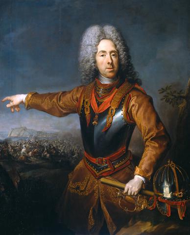 Prinz Eugen von Savoyen, Öl auf Leinwand, 1718.