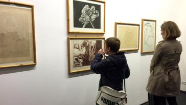 Ausstellungsansicht im JesuitenFoyer