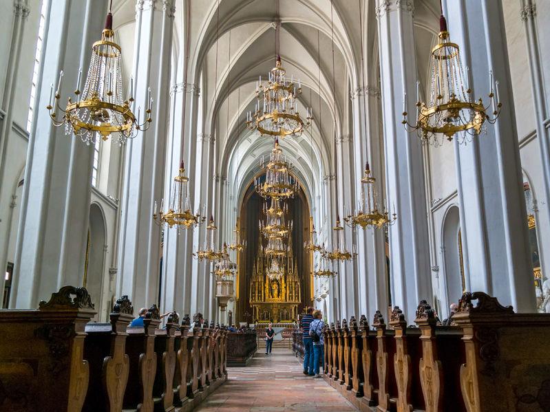 augustinian church, roman catholic parish church and part of hofburg palace in vienna, austria