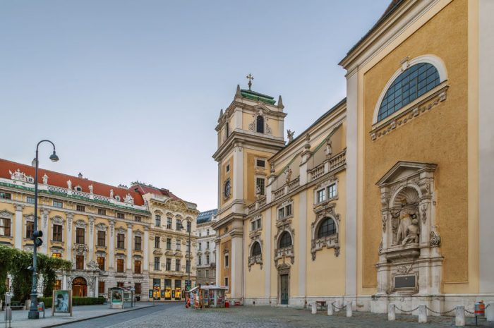 the schottenstift (english: scottish abbey) is a roman catholic monastery founded in vienna in 1155, austria