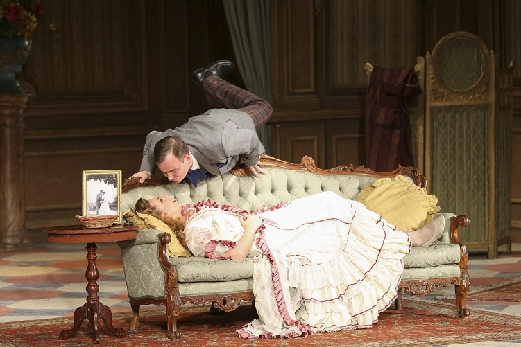 Die Fledermaus, Elisabeth Flechl (Rosalinde), Alexander Pinderak (Alfred)