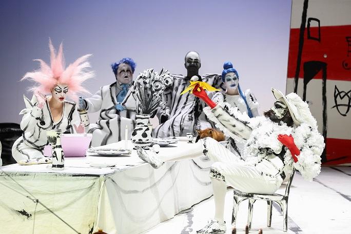Szene aus dem Stück Don Giovanni