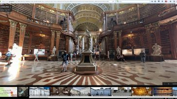 Prunksaal - Screenshot aus Google Maps