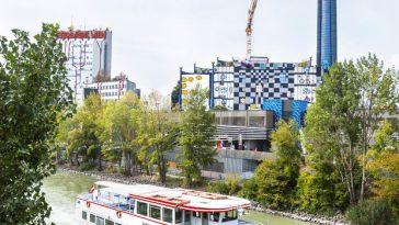 building of the vienna heating plant designed by friedensreich hundertwasser