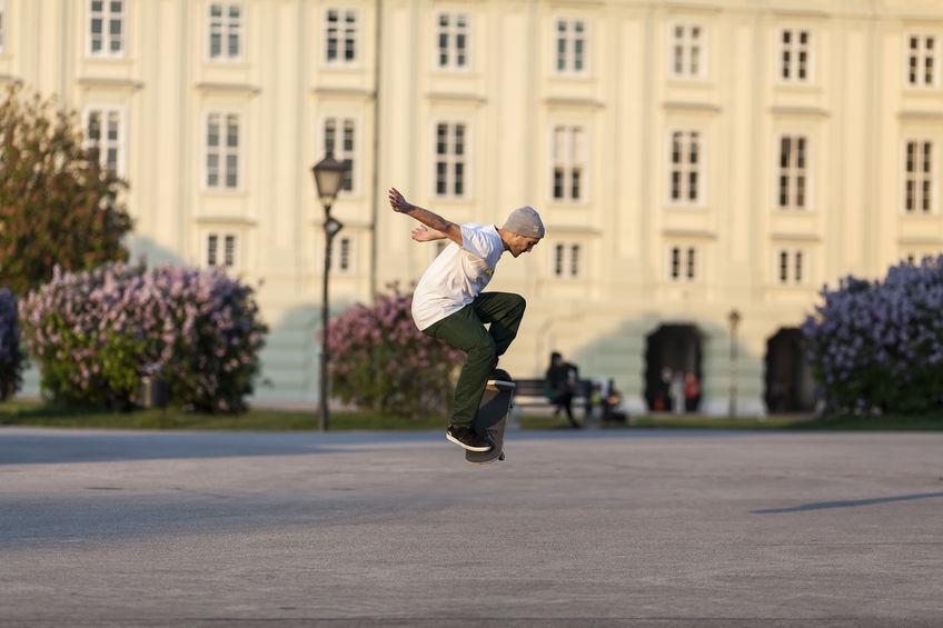 skate parks die besten adressen in wien - Skateboard Bank Beine