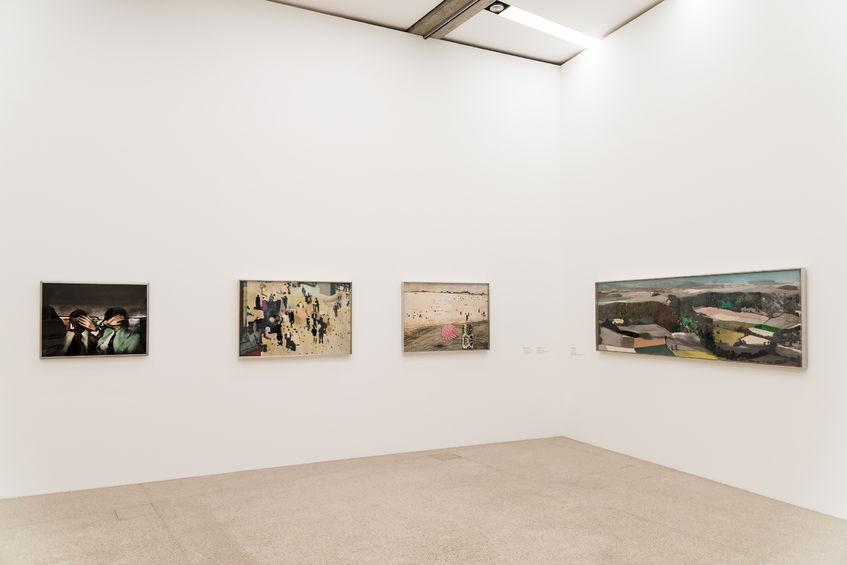 Ausstellung von 4 Gemälden im mumok Museum
