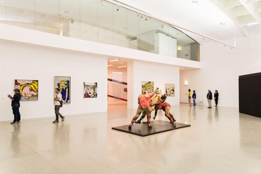 Ausstellung Gemälde von Andy Warhol