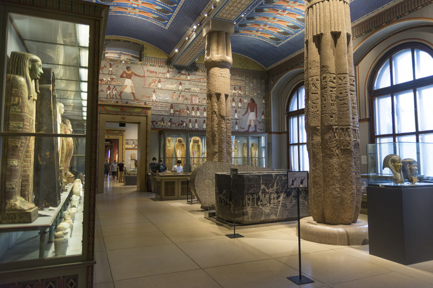 egyptian and near eastern collection from museum of art history (kunsthistorisches museum)